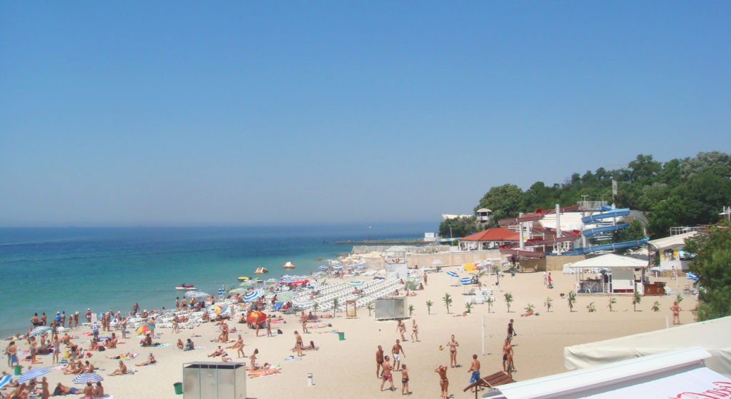Пляж Большой Фонтан